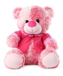 Funzoo Lolly Teddy Bear With Dress Soft Toy Pink - Height 16 Inches