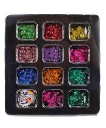 Art & Fun Plastic Color Beads Set - Multi color