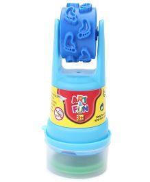 Art & Fun Dough Stamp And Roller - Blue