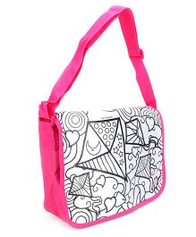 Simba Colour Me Messenger Bag - Pink
