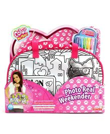 Simba Color Me Mine Photo Real Weekender - Pink