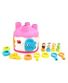 Smoby Cotoons Shape Sorter House - Multicolour