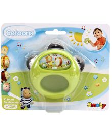 Smoby Cotoons Tambourine - Green