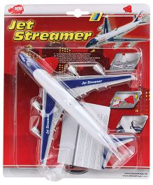 Dickie Battery Operated Jet Streamer - White And Blue