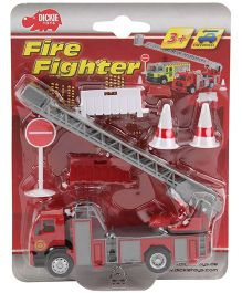 Dickie Fire Fighter Truck - 12 cm