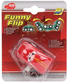 Dickie Funny Flip Car Toy - Assorted Colours