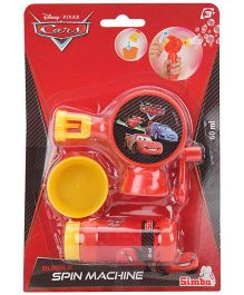 Disney Cars Bubble Spin Machine - Red