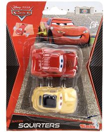 Disney Pixar Cars Water Squirts Pack Of 2 - Assorted