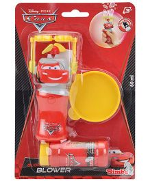 Disney Pixar Cars Battery Operated Bubble Blower - Red