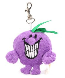 Mr Men & Little Miss Key Chain Purple - Length 7.6 cm