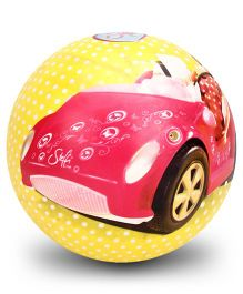 Steffi Love Vinyl Play Ball Yellow - 9 Inches