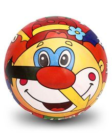 Simba Vinyl Play Ball Joker Face Print - 9 Inches