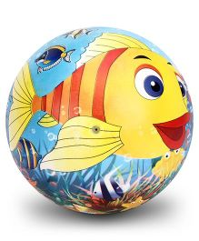 Simba Vinyl Play Ball Fish Print - 9 Inches