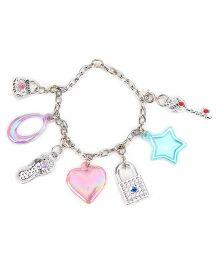 Steffi Love Dangling Bracelet - Pink