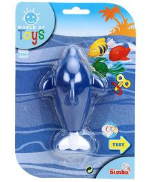 Simba World of Toys Wind Up Swimming Animals Fish - Blue