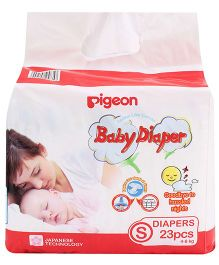 Pigeon Baby Diaper Small - 23 Pieces