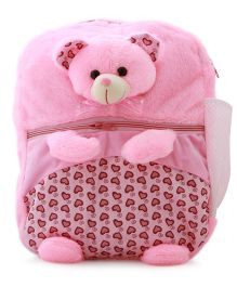DealBindaas Plush School Bag - Height 12.5 inches (Color May Vary)