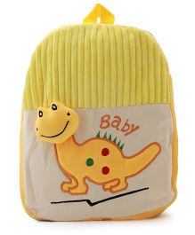 DealBindaas Stuff School Kiddy Bag - Yellow - 12.9 inches
