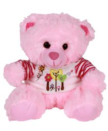 DealBindaas Fun Dress Teddy Bear Pink - 30 cm (Colours May Vary)