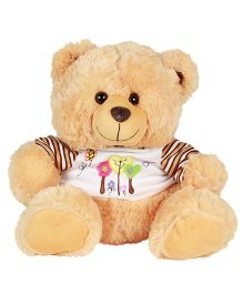 DealBindaas Fun Dress Teddy Bear Brown - 30 cm (Colours May Vary)