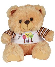 Deal Bindaas Fun Dress Teddy Bear Brown - 40 cm (Colours May Vary)