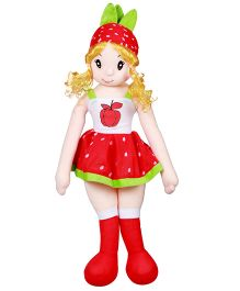 DealBindaas Christy Candy Doll Red - Height 3.9 inches