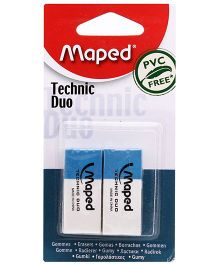 Maped Technic Duo Blister - White & Blue