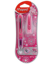 Maped Girly Ink Pen - Pink