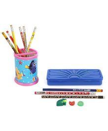 Mr. Clean Stationery Set - Blue And Pink