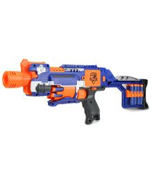 NERF Funskool Stockade Gun - Blue And Orange