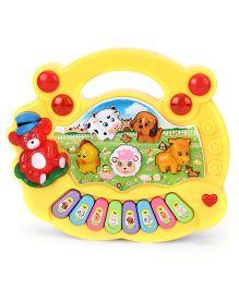 Playmate Animal Farm Mini Piano - Yellow