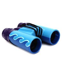 Wild Republic Aquatic Wave Print Binoculars - Blue