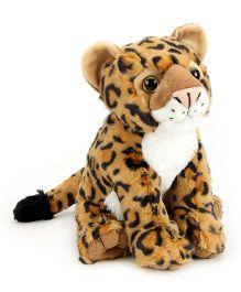 Wild Republic CK Baby Leopard Soft Toy Brown - 30 cm