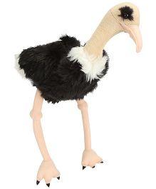 Wild Republic CK Ostrich Soft Toy Black - Height 12 Inch