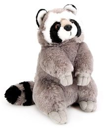 Wild Republic CK Raccoon Soft Toy Grey - 26 cm