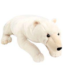 Wild Republic CK Polar Bear Soft Toy White - Height 30 Inch