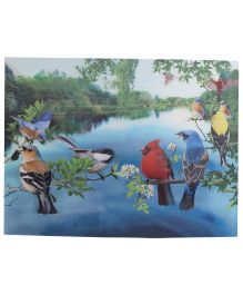 Wild Republic Birds 3D Poster - Multicolor
