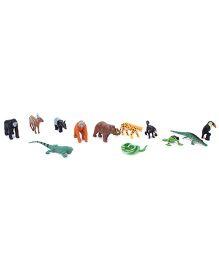 Wild Republic Nature Tube Rainforest Animal Playset