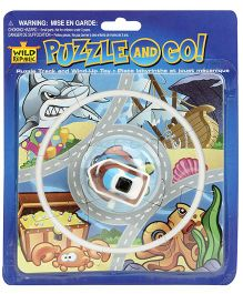 Wild Republic Blast Puzzle With Track Car Sea Animal - Multicolour