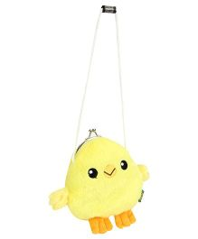 Wild Republic Clasp Purse Audubon Chick Shape - Yellow
