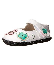 Pediped Lorraine Sandal With Strap - White