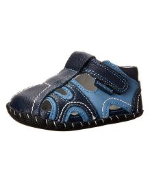 Pediped Brody Sandal - Navy Light Blue