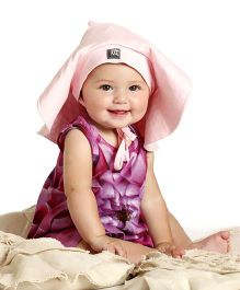 Baby Honey Romper - Dark Pink