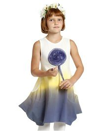 Tiana Dress - Blue