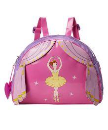 Kidorable Pink Ballerina Backpack