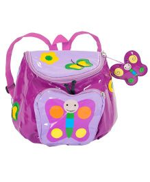 Kidorable Purple Butterfly Backpack
