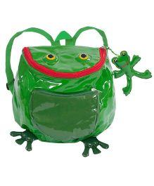Kidorable Green Frog Backpack