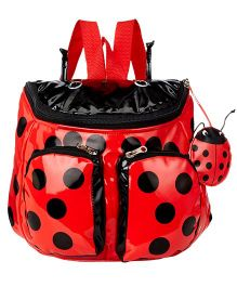 Kidorable Red Ladybug Backpack
