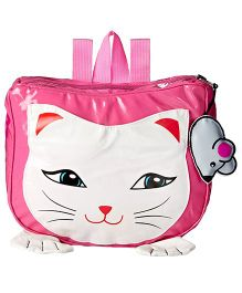 Kidorable Pink Cat Backpack