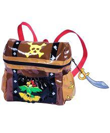 Kidorable Brown Pirate Backpack
